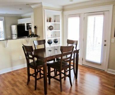 Open Dining Area - 2 Bedroom Flat - Luxury Rental - Charlottesville