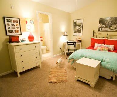 Charlottesville 2 bedroom luxury rental townhome