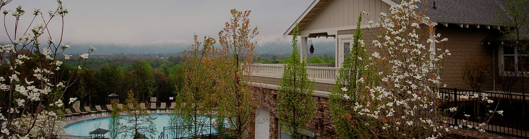 Beautiful Views at Woodlands of Charlottesville Luxury Condo Rentals