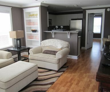 Relax in casual luxury at Woodlands of Charlottesville apartments
