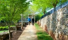 Secluded and quiet luxury apartments for rent at Woodlands of Charlottesville
